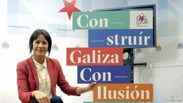 Ana Pontón, candidata nacionalista