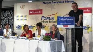 Vox interrumpe un discurso de Otegui con una grabación con insultos a los españoles