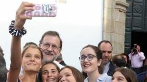 Rajoy, el señor del mercadillo