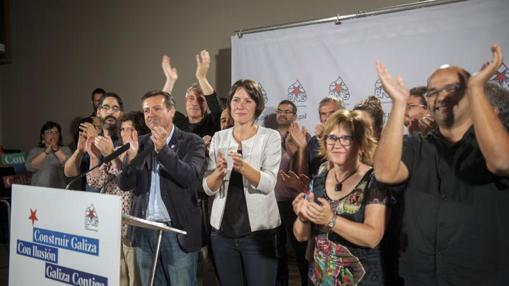 La candidata del BNG, Ana Pontón
