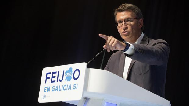 Alberto Núñez Feijóo, en una imagen de archivo