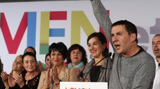 El secretario general de Sortu, Arnaldo Otegui