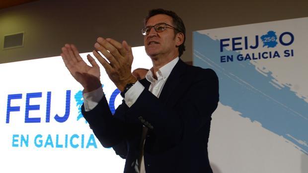 Alberto Núñez Feijóo celebra este domingo su nueva mayoría absoluta