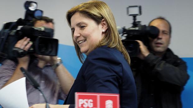 Pilar Cancela, presidenta del PSOE gallego