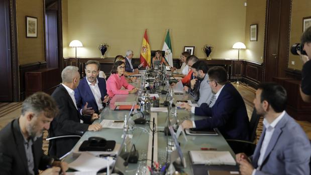 Consejo de Gobierno de la Junta de Andalucía en San Telmo