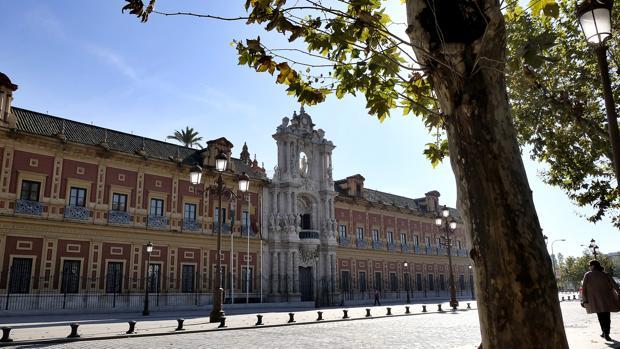 Palacio de San Telmo, sede de la Presidencia de la Junta de Andalucía
