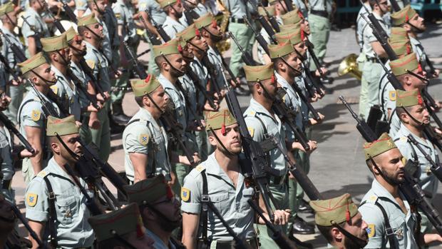 Imagen de archivo de La Legión