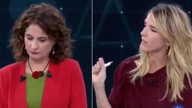 María Jesús Montero (PSOE) y Cayetana Álvarez de Toledo (PP)