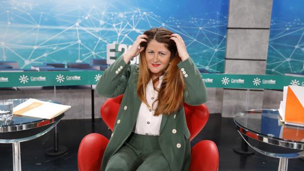 Susana Serrano en el debate de Canal Sur