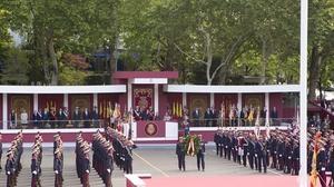 España reivindica unidad en la última Fiesta Nacional de la legislatura