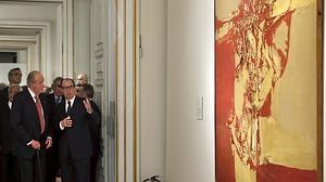 El Palacio Real exhibe regalos de boda de Don Felipe y Doña Letizia