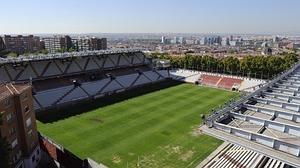 El estadio del Rayo vale 7,5 millones