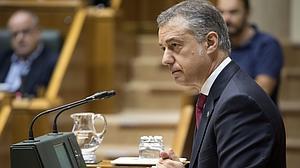 Urkullu: «Propuse a Mas trabajar conjuntamente por un nuevo modelo de Estado y Cataluña decidió su camino»