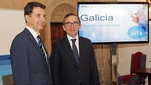 BBVA rebaja las previsiones de crecimiento de Galicia al 2,2% en 2015