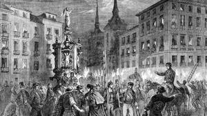 Cuando Madrid encendió el alumbrado de Navidad por primera vez