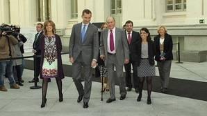 El Rey rinde homenaje a Don Juan Carlos por su «gran proyecto de concordia nacional»