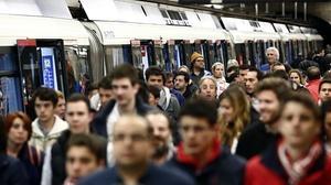 Retrasos de más de dos horas en la línea 6 de Metro de Madrid