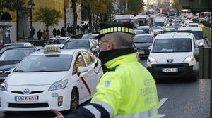Casi 400 multas en la M-30