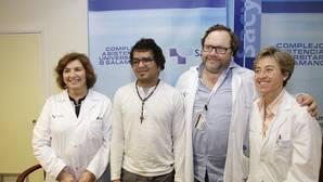 El hospital de Salamanca realiza el primer trasplante de cara sin rechazo de España
