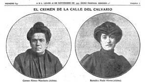 El crimen de la calle del Calvario, el feminicidio que conmocionó a Madrid en 1907