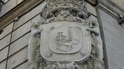 Escudo de armas, situado en un esquinazo de la casa de Cordero