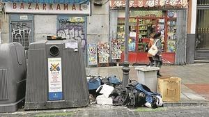 Suciedad en Madrid: una ciudad devorada por la basura