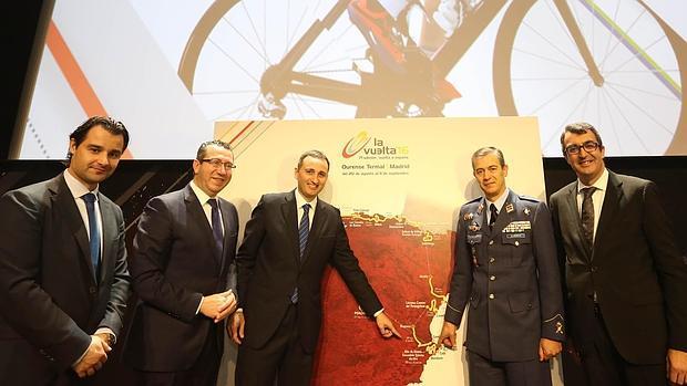 Sánchez señala el recorrido de la Vuelta por la provincia de Alicante