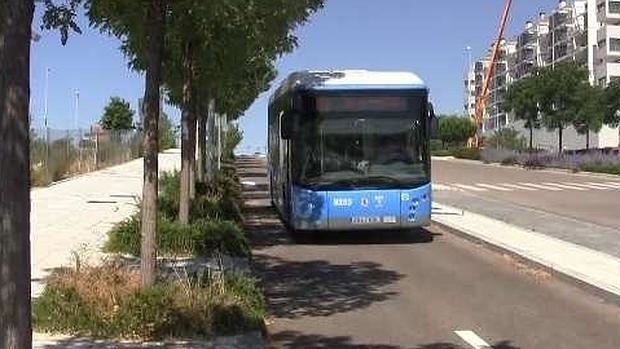 Autobús de la antigua línea de