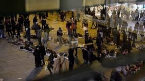 Los comerciantes del centro: «Tenemos más manteros que nunca»