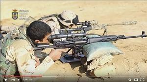 Vídeo: así entrenan las tropas españolas al Ejército de Irak