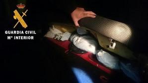 En prisión tras ser detenido con más de seis kilos de hachís en Tembleque