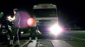 Cazan a un camionero que ingirió anfetaminas para hacer una ruta de Galicia a Alemania