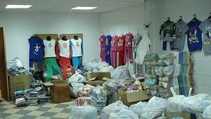 Incautan ropa falsificada por valor de tres millones de euros en una operación con cinco detenidos