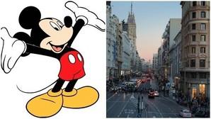 El ratón Mickey busca casa en la Gran Vía