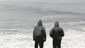 «Ves olas de diez metros y asustan... pero bajas igual»