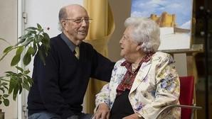 Lección de amor del matrimonio más longevo de Madrid: «Una pareja feliz es pasión y respeto»