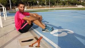 El atleta Lucas Búa