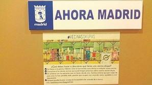 Los consejos de Ahora Madrid sobre los «okupas»: «Si descubres un vecino, no llames a la Policía»