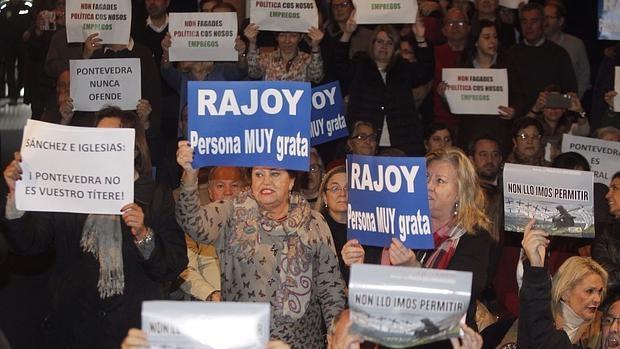 Tensión en el pleno de Pontevedra