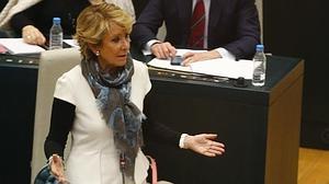 Aguirre deja en evidencia a Carmena: «¿Cómo es posible que siendo jueza apoye los escraches?»