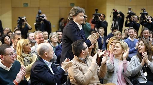 Imagen de Luis Santamaría, presidente de la gestora del PP en Valencia