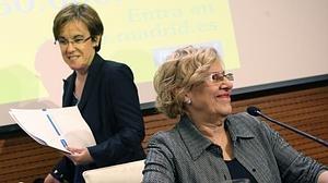 Carmena pide a Iglesias que ceda y haga presidente a Sánchez