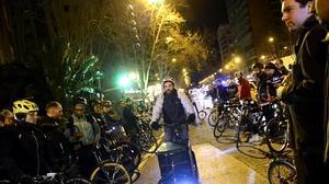 Detienen a la conductora que presuntamente atropelló al ciclista de BiciMad en Alberto Alcocer