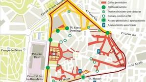 Carmena empezará a multar en la APR de Ópera el 16 de marzo