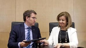 Báñez rubrica la cesión del edificio que albergará los juzgados de Vigo