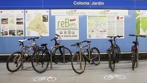 «Aparcabicis» en el Metro