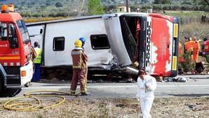 Interior apunta a un fallo humano como causa del accidente de autobús de Tarragona