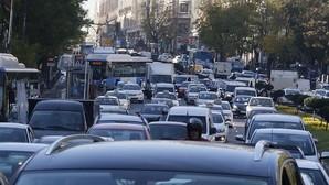 Los atascos en Madrid alcanzaron en 2015 su nivel más alto en seis años