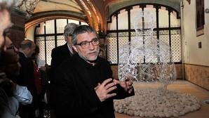 Jaume Plensa deja su huella en el Palau de la Música