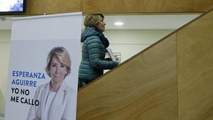 Aguirre pide al PP evitar elecciones y negociar ya con PSOE y Ciudadanos